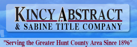 Kincy Abstract & Sabine Title Company in Greenville, Texas